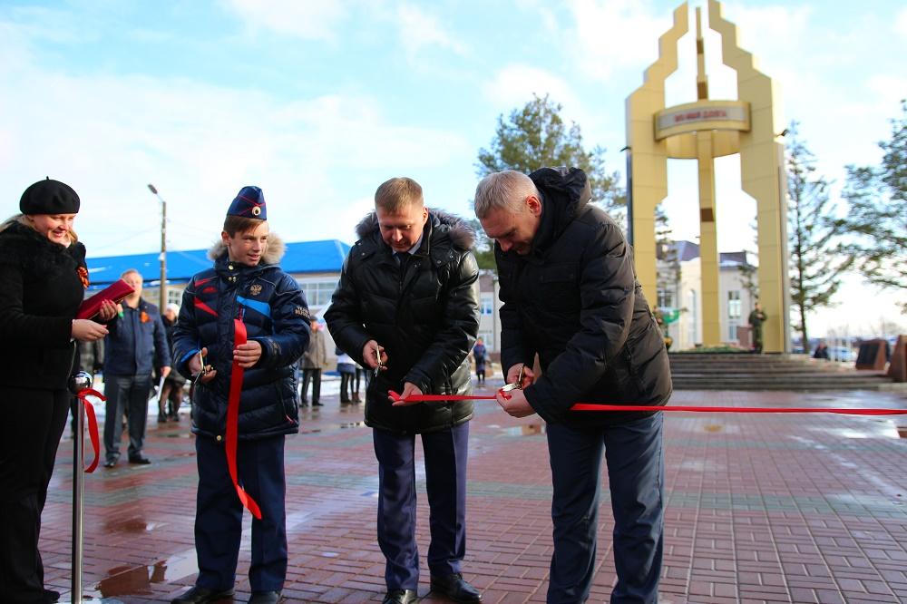 «Лукойл» стал одним изглавных помощников ввосстановлении парка Победы Кондинского района